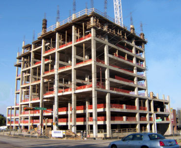 1999 McKinney Avenue Condominiums Construction