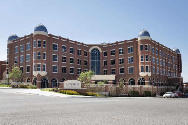 Artesian Hotel & Convention Center Exterior