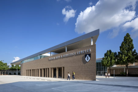 Bishop Lynch HS Expansion Exterior