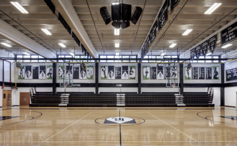 Bishop Lynch HS Expansion Interior Gym
