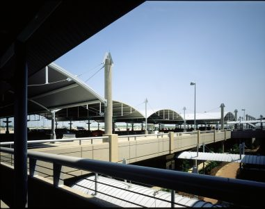 DFW Airport Consolidated Rent-a-Car Facility Exterior