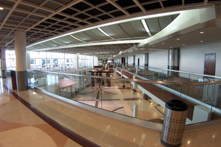 DFW Airport Consolidated Rent-a-Car Facility Interior