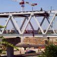 DFW Airport Terminal A/B Pedestrian Skybridge Construction