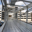 DFW Airport Terminal C/D Pedestrian Skybridge Construction