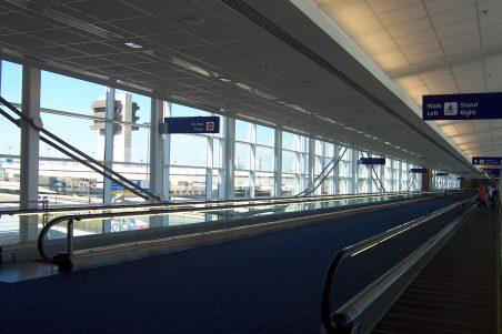 DFW Airport Terminal C/D Pedestrian Skybridge Interior