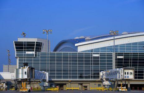 D/FW Airport Terminal D Exterior Ground