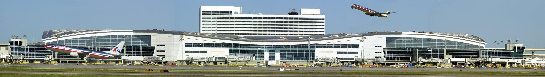D/FW Airport International Terminal D - Panoramic