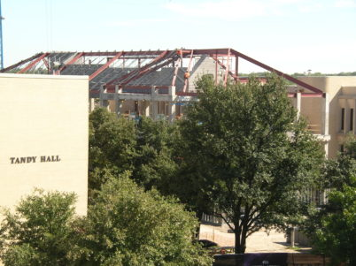 TCU Instructional Building (Rees-Jones Hall) Construction