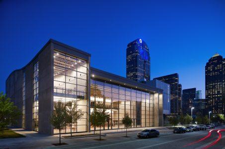Dallas City Performance Hall - Exterior, Night