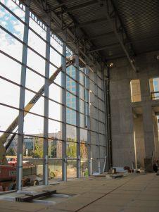 Dallas City Performance Hall Construction