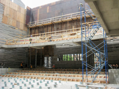 Dallas City Performance Hall Construction