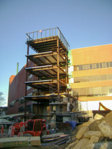 Fitchburg State Hammond Hall Campus Center & Library Building Addition and Renovations Construction