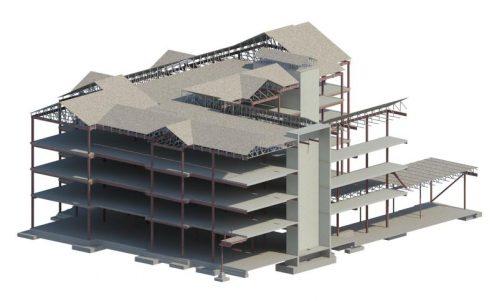 Southern Nazarene University Residence Hall - Rendering