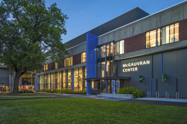 University of Massachusetts-Lowell McGauvran Hall Exterior
