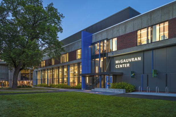 University of Massachusetts-Lowell McGauvran Hall Exterior