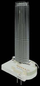 Museum Tower BIM Revit Overall