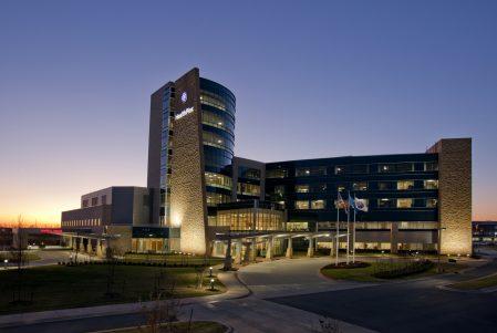 Norman Regional Hospital Night