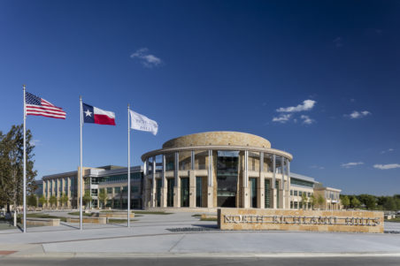 North Richland Hills City Hall, Court, & Public Safety Campus - Exterior, Front