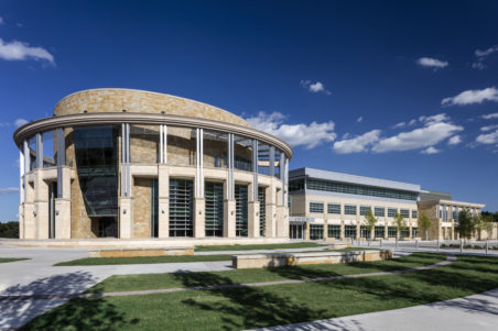 North Richland Hills City Hall, Court, & Public Safety Campus - Exterior, Side