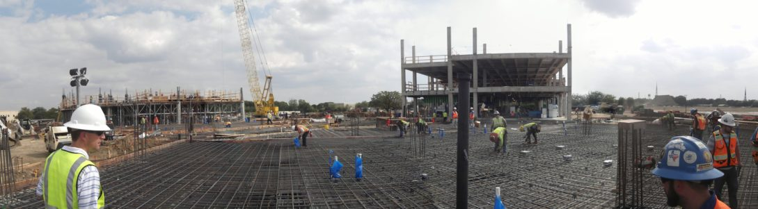 North Richland Hills City Hall, Court, & Public Safety Campus Construction Panorama