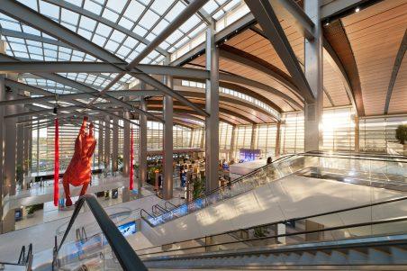 Sacramento Airport Central Terminal B Interior