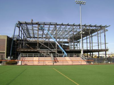 Salem State University Fitness Center Construction