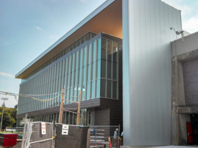 Salem State University Fitness Center - Construction