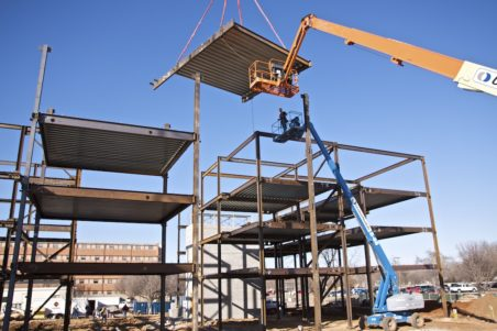 Southern Nazarene University Residence Hall Construction