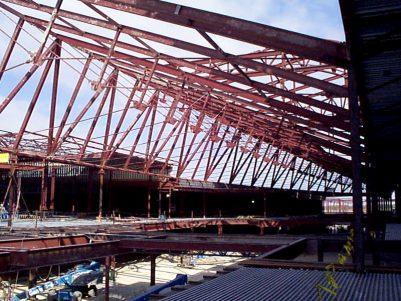 Stonebriar Mall Construction