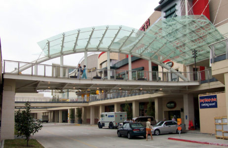 Stonebriar Mall Pedestrian Bridge