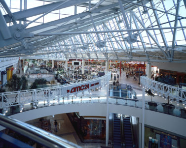 Stonebriar Mall Roof Interior