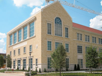 TCU Instructional Building (Rees-Jones Hall) Exterior