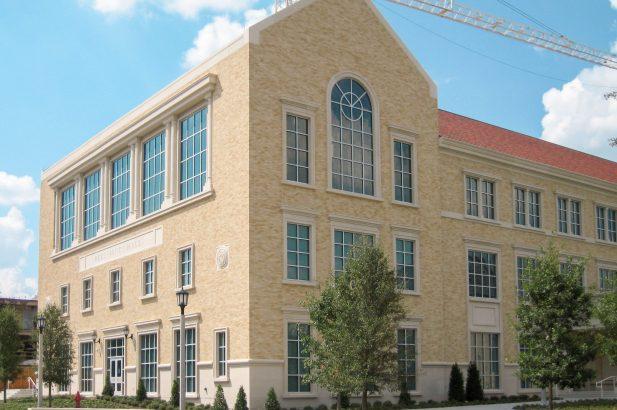 TCU Instructional Building (Rees-Jones Hall) Exterior