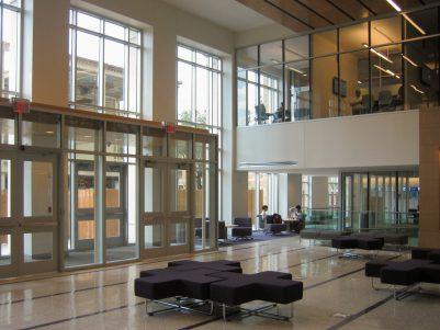 TCU Instructional Building (Rees-Jones Hall) Interior