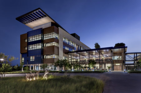 Texas Health Hospital Clearfork - Exterior, Night