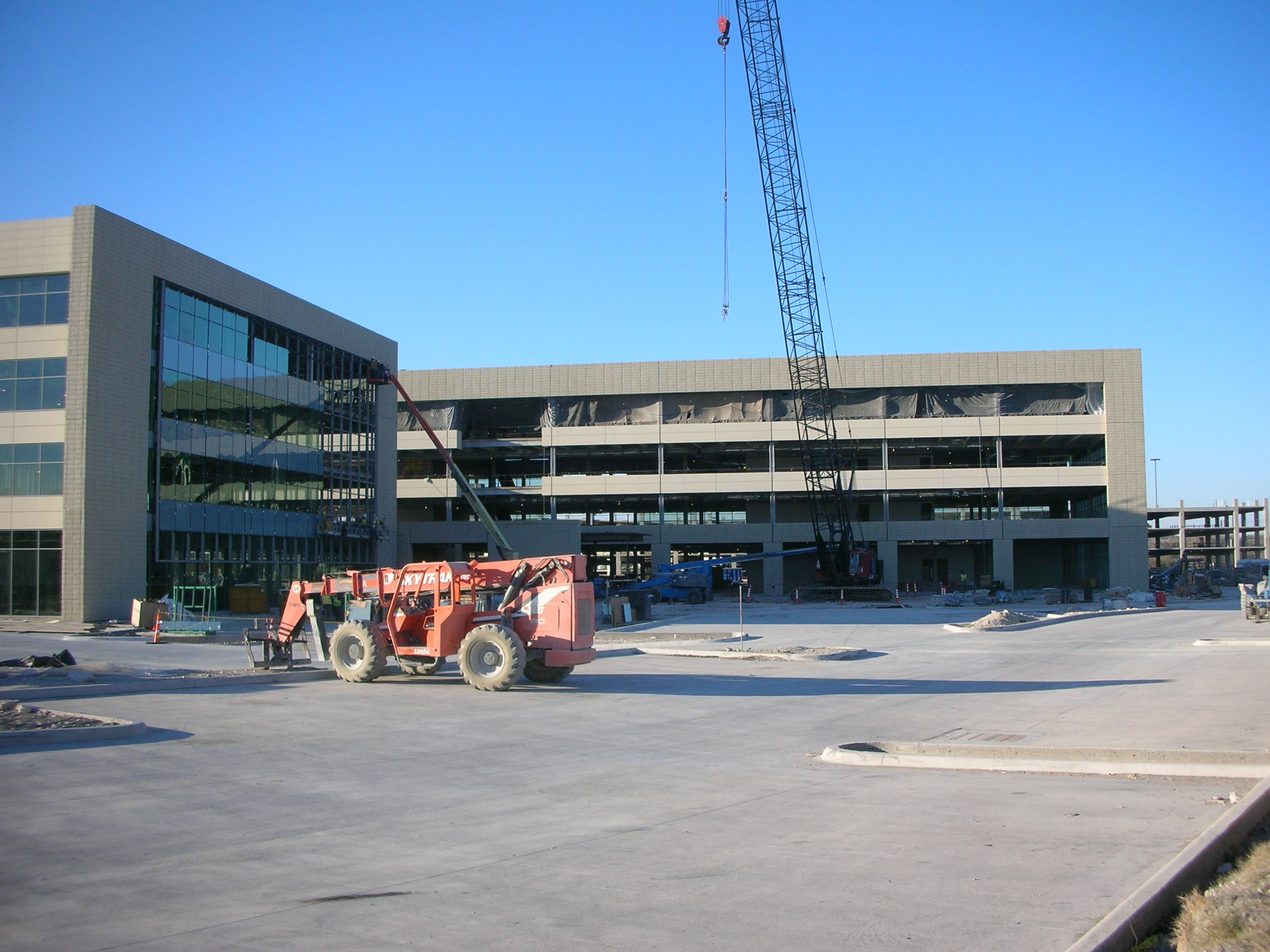 Ericsson Plano Headquarters Construction - L A  Fuess Partners