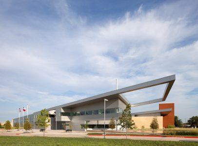 Lancaster Public Safety Building Exterior