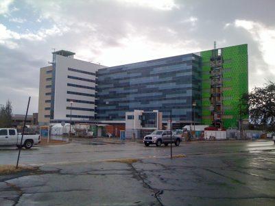 Midland Memorial Hospital Expansion Construction