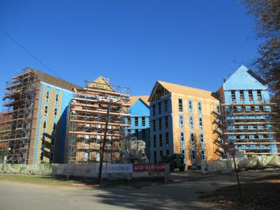 Olympia Place Construction