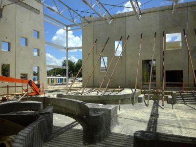 New Braunfels Rec - construction