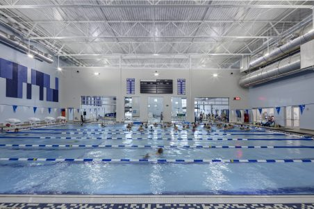 New Braunfels Rec - lap pool