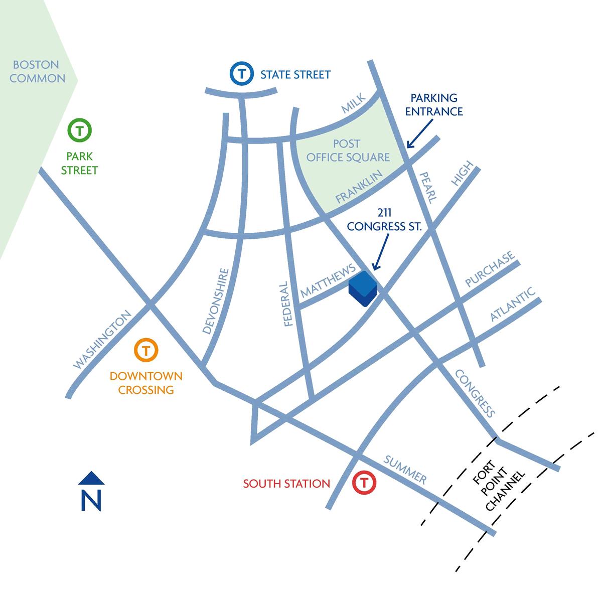 L.A. Fuess Boston Map