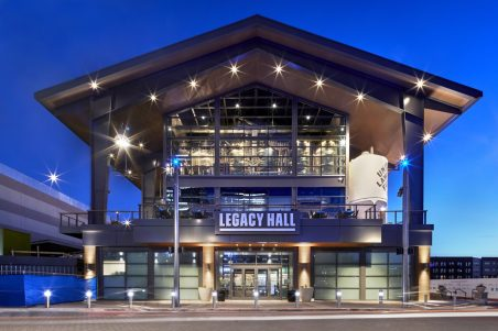 Legacy Hall - Entrance by Garrett Rowland